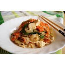 Сыр Тофу с восточными овощами и лапшой